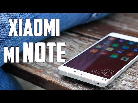 Xiaomi Mi Note, Review en espa�ol