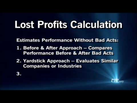 Methods to Calculate Damages in Litigation