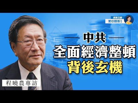 专访程晓农:重捶打击私企,中共不可言说的真实意图是什么?美中会进一步金融脱钩吗?