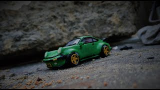Слепил Крутой Porsche 911(930turbo) ИЗ Пластилина