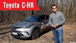 Toyota C-HR teszt I Schiller TV I Tesztközelben #1