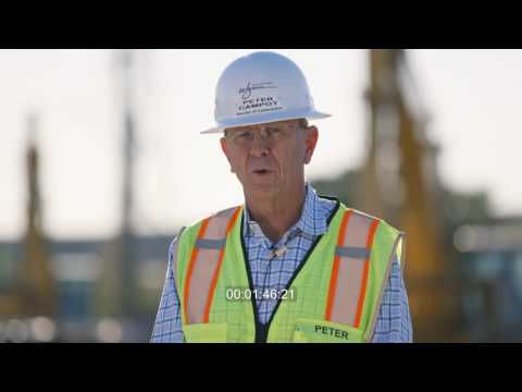 Wynn Boston Harbor construction video 10.26.16