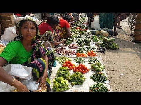 Incredible Vegetables Market In Karwan Bazar Bangladesh | Here Weight Machine Not Works