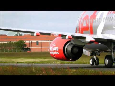 Planespotting At Blackpool Airport #1