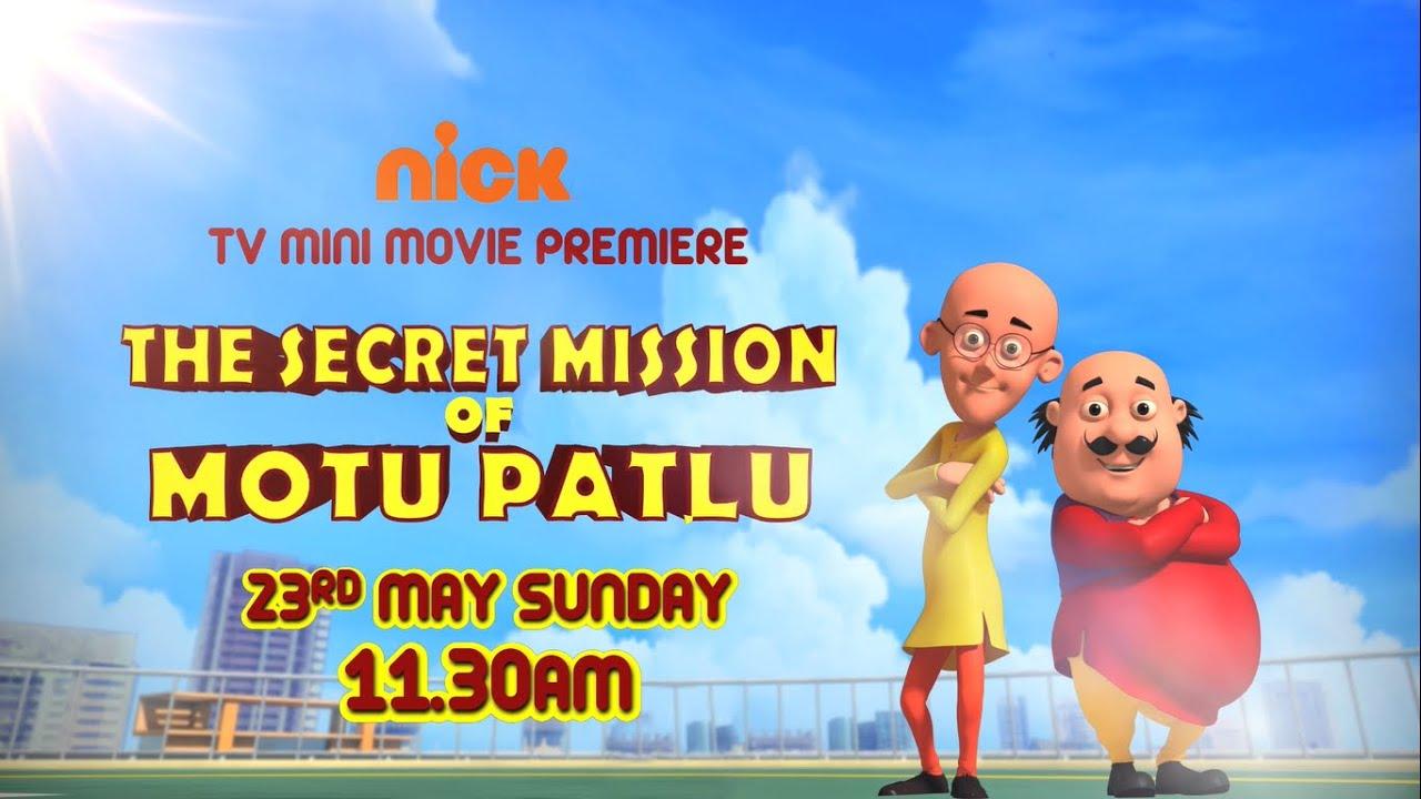 Nick India   Motu Patlu   The Secret Mission