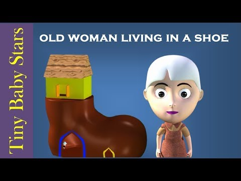 There was an Old Woman Who Lived In a Shoe Nursery Rhymes by Tiny Baby Stars