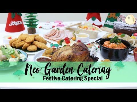 Neo Garden Catering - Christmas Festive Catering Party Pack