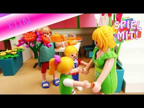 Playmobil Geschichte - Kinder machen Frühstück für Mama - Playmobil Film Deutsch