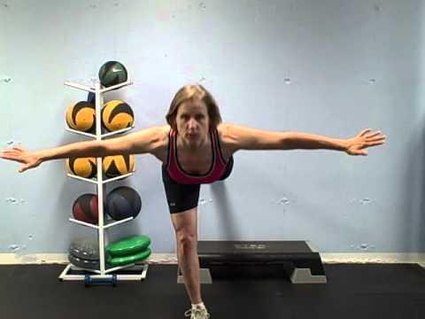 Ski Exercises for Legs & Knees.AVI