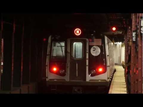 57th Street - 6th Avenue Bound R160A-1 M Train @ Essex Street