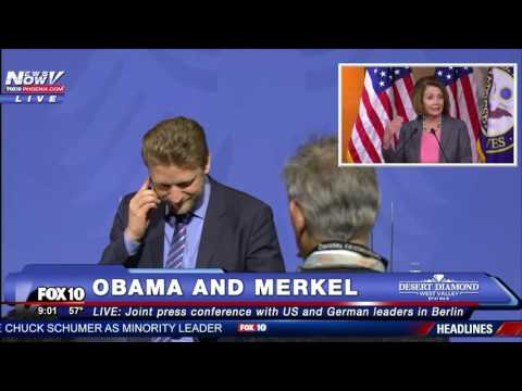 FNN LIVESTREAM 11/17: President Obama in Germany; NASA Launch Events