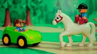Смотреть видео для детей Лошадки круче машин Видео с игрушками про животных