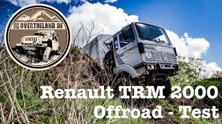 Renault TRM 2000 - Offroadtest 2017
