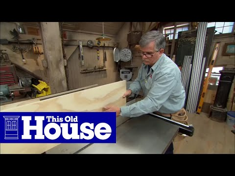 How to build a tool storage cabinet this old house youtube for Tools to build a house