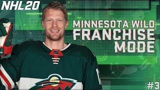 NHL 20 MINNESOTA WILD FRANCHISE MODE #3
