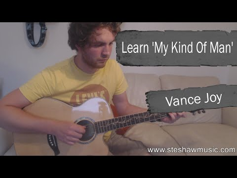 Vance Joy - My Kind Of Man *Guitar Lesson* (Fingerstyle Tutorial) With Ste Shaw