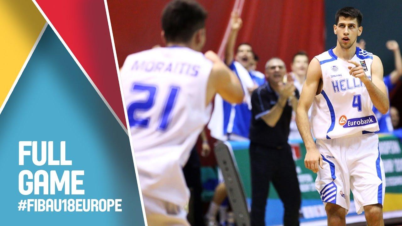 Ελλάδα - Σουηδία για το Ευρωπαϊκό Εφήβων ζωντανά στις 15.15 από την Σαμψούντα