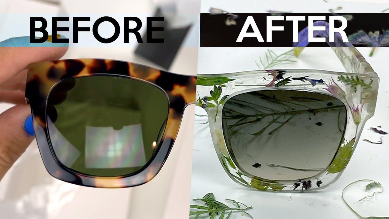 DIY Flower Glasses pt.2