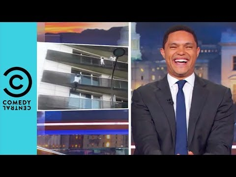 France Has Its Very Own Spider-Man | The Daily Show With Trevor Noah