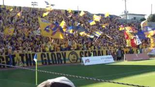 VEGALTA SENDAI Supporters in Away game ベガルタ仙台 Go!行くぞ仙...