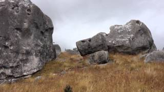 JustMTB Flock Hill - a bouldering playground