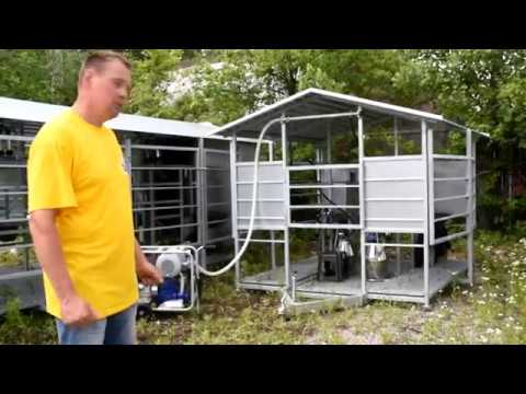 Pasture based milking systems arrived at USA.