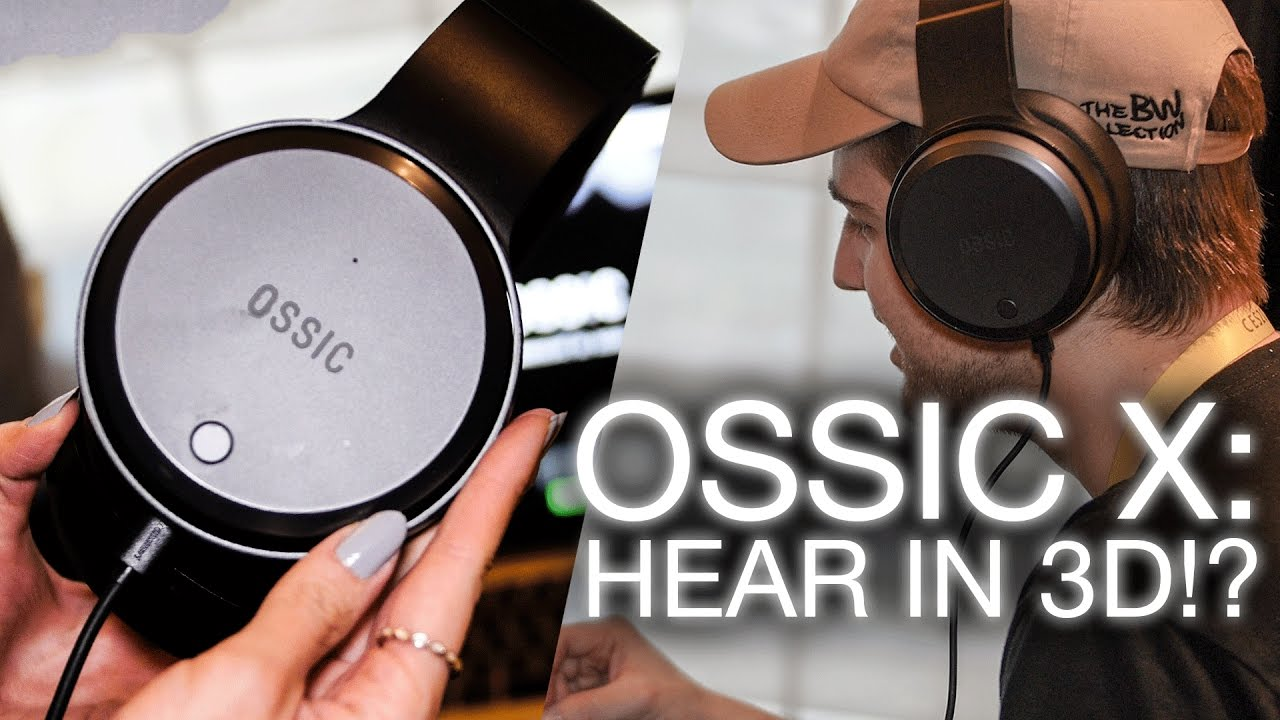 OSSIC X: 3D Audio Headphones, tailored to you - YouTube