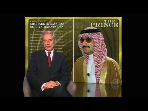 From 2001: The Prince on 60 Minutes