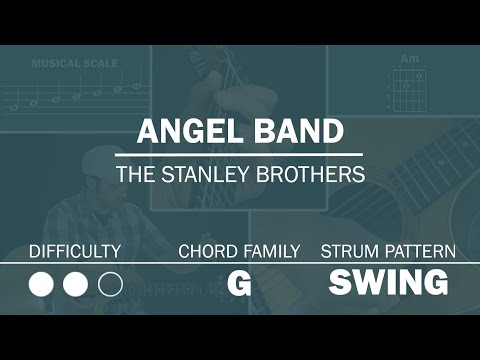 Angel Band (The Stanley Brothers) | Beginner Guitar Lesson | Play Along Demo