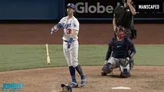 Cody Bellinger hits a go-ahead HR in game 7 and hurts himself celebrating, a breakdown