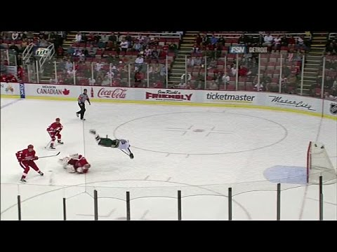 Best of Hasek: Sends Gaborik Airborne