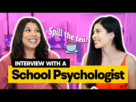 Interview With A School Psychologist