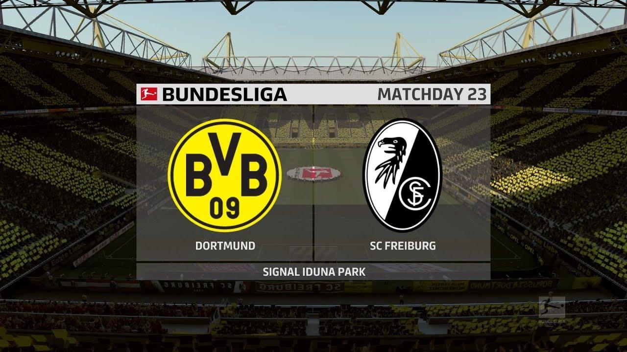 FIFA 20   Dortmund vs Freiburg - Bundesliga   29/02/2020 ...