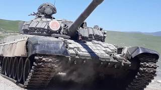 Танковый биатлон в Чирчике