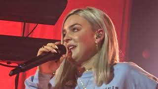 Anne Marie - Got Emotional at Perfect ( Live in Amsterdam - Speak Your Mind Tour, Melkweg ) 2018
