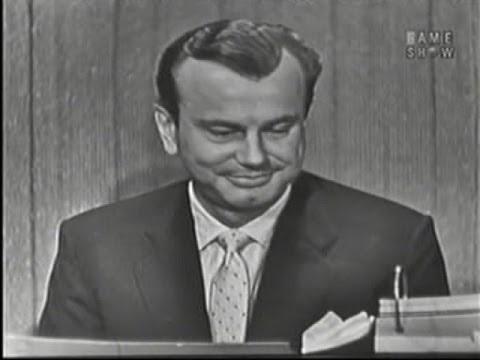 What's My Line? - Jack Paar; Vincent Price [panel] (Mar 9, 1958)