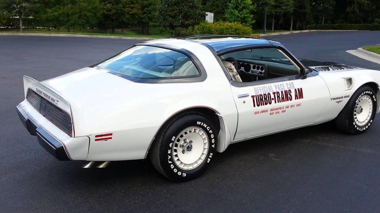 Trans Am Pace Car For Sale