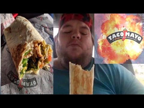 taco mayo grilled burrito chicken review