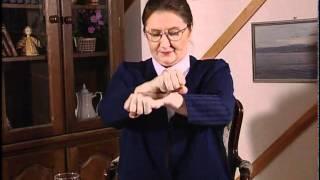 Курс жестового языка, Урок 30