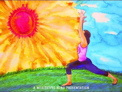 "Relaxing ""Evening Yoga"" Background Music | Hang Drum & Tabla | Instrumental Music"