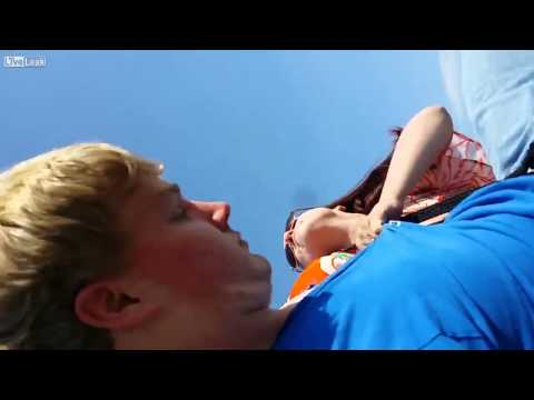Dickerman - Crazy Lady Attacks Drone Nerd At The Beach