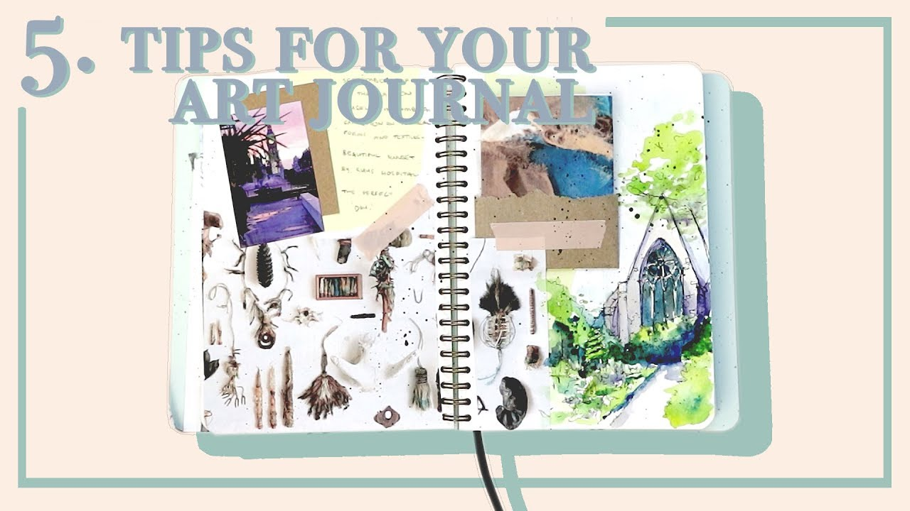 Art Journal Every Day Sketchbook Journalling Tips - Art design document