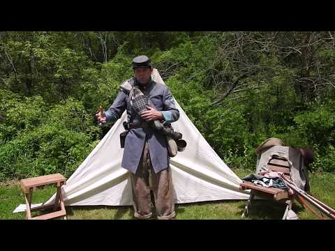 Arms & Equipment Of A Civil War Infantryman, Presented By Reenactor John Wessner