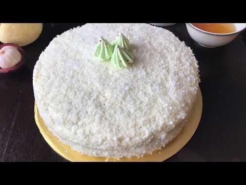 Торт,,Белоснежка''.Изумительный и нежный вкус.Oppog'oy torti ajoyib ta'm