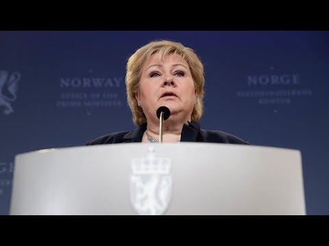 Erna Solberg møtte pressen: - Jeg mener Sylvi ga en uforbeholden unnskyldning
