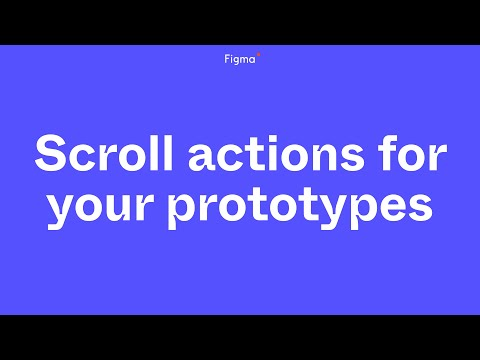 Office Hours: Scroll actions for your prototypes