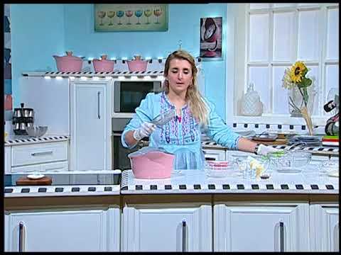 هيك نطبخ حلقه خاصه عن وصفات باللون الوردي #غفران كيالي #فوود