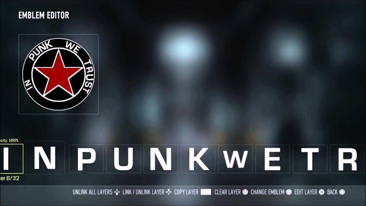 7745226b Call Of Duty Advanced Warfare - Cm Punk Emblem - YouTube