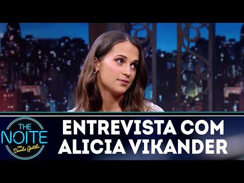 Entrevista com Alicia Vikander | The Noite (13/03/18)