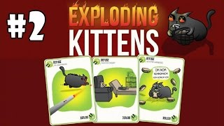 Exploding Kittens [Multiplayer] Android Gameplay #2 [HD]